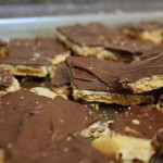 graham cracker biscoff toffee