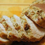 roasted pork loin with apple cider