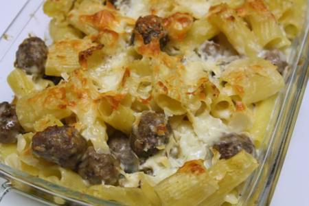 Confessions of a Picky Eater » baked rigatoni with tiny ...