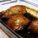 molasses glazed chicken