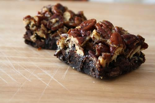 Confessions of a Picky Eater » chocolate pecan pie bars