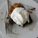 low(er) fat chocolate pudding pie