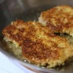 breaded vinegary pork chops