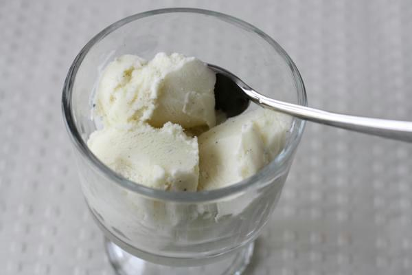 philadelphia style vanilla ice cream