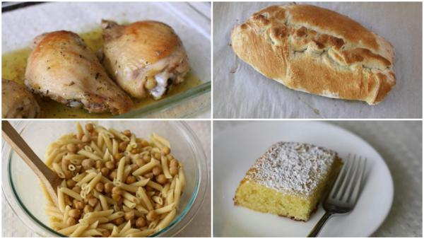 a month of meals {may and june 2013}