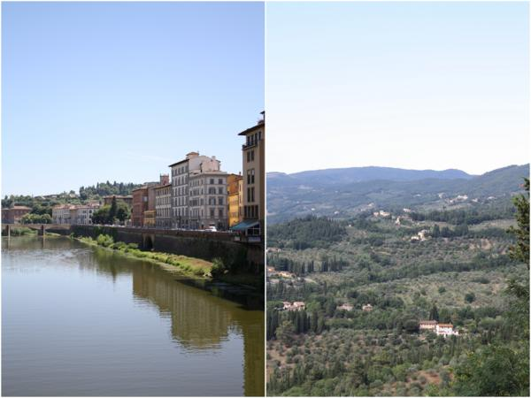 Arno and Fiesole