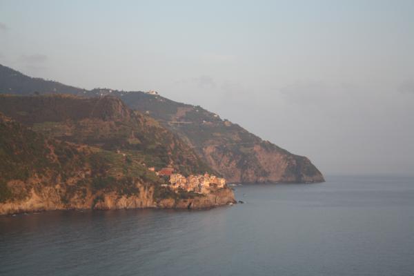 view from corniglia cinque terre