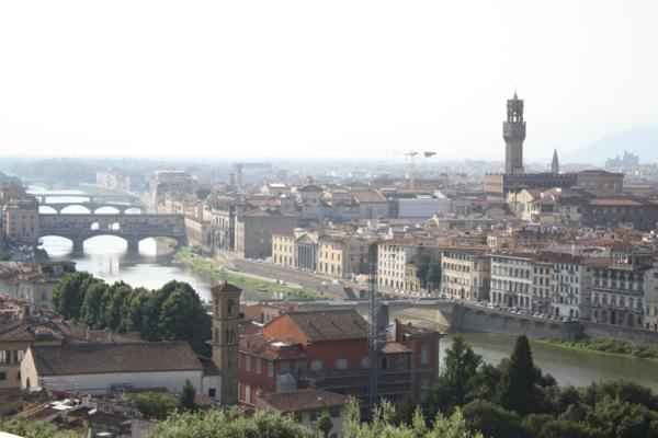 florence piazza michelangelo