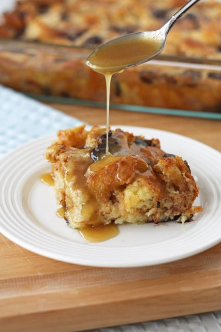 ... of a Picky Eater » chocolate croissant bread pudding with rum sauce