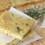 rosemary focaccia (+ travel & money)