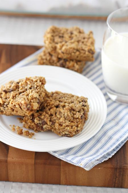 maple peanut breakfast bars