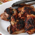 yogurt marinated grilled chicken (+ easy entertaining)