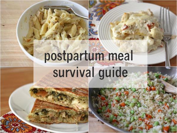 postpartum meal survival guide