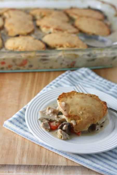 chicken and biscuit cobbler