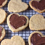 chocolate hazelnut cookies (+ valentine's day feelings)