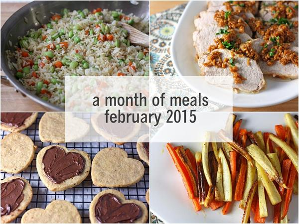 a month of meals: february 2015