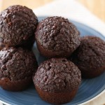 chocolate quinoa muffins