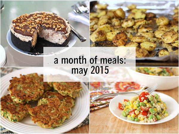 a month of meals: may 2015