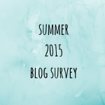 summer 2015 blog survey