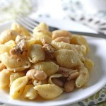 pasta with sausage and tuscan beans {updated}