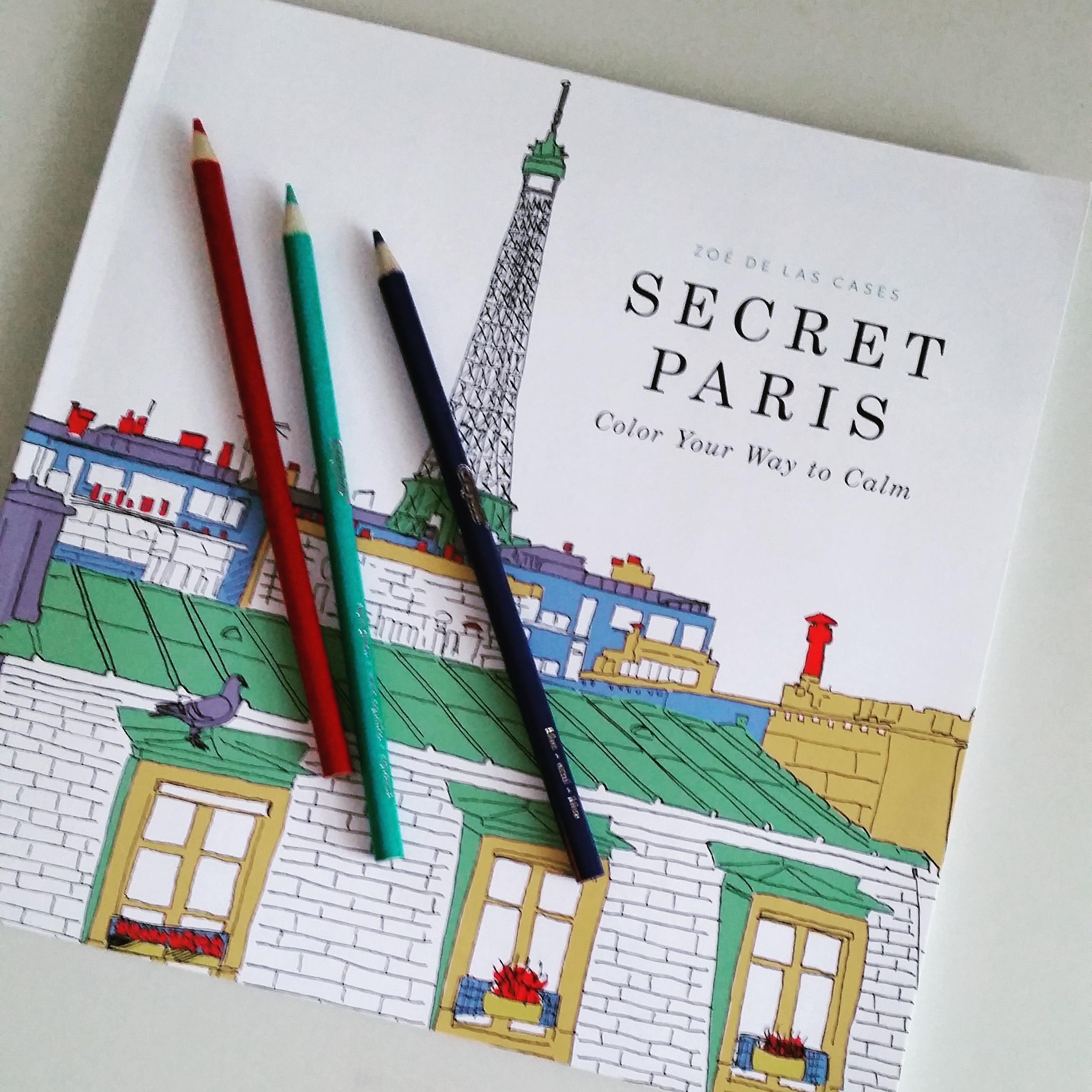 coloring--secret paris