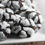 chocolate snowflake cookies (and advent and joy)